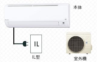 壁掛型エアコン-1.5馬力
