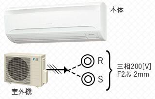 壁掛型エアコン-2馬力