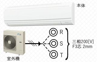壁掛型エアコン-4馬力